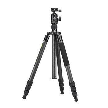 Genesis Gear Camera Statief Base C5 + BH-40 Set Grijs