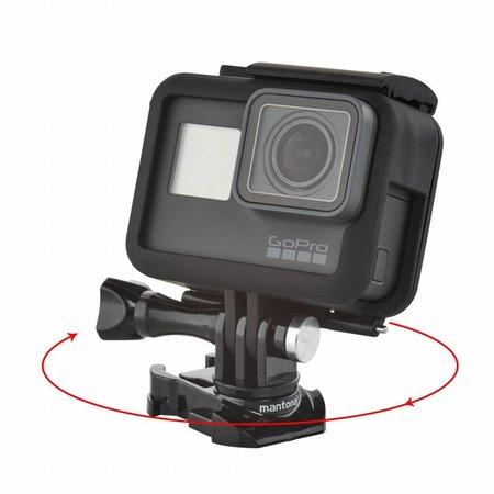mantona GoPro Quick instep buckles set 360 degrees