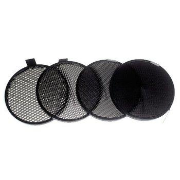 "Lencarta Set of 4 Honeycombs for 7"" Standard Reflector"