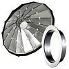 Lencarta Beauty Dish 60cm Folding, Silver | Various brands Speedring