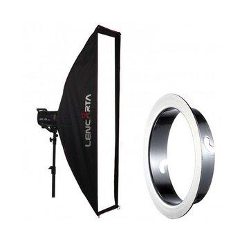 Lencarta Softbox Striplight 27x140cm Profold Folding | Diverse merken Speedring