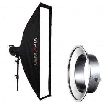 Lencarta Softbox Striplight 27x200cm Folding | For different brands Speedring