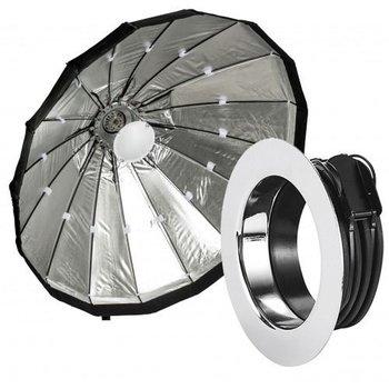 Lencarta Beauty Dish Silver 120cm Folding   Various brands Speedring