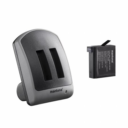 mantona Duo charger for GoPro Hero 4  1 battery
