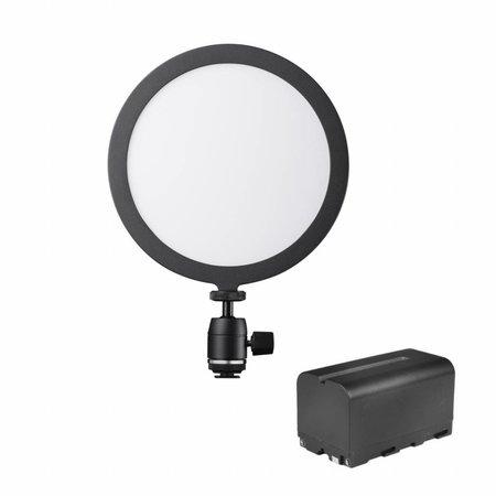 Walimex pro Soft LED 200 Round Bi Color Set1