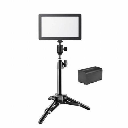 Walimex pro Soft LED 200 Square Bi Color Set2