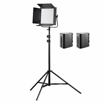 Walimex pro Soft LED 520 Brightlight Bi Color Set2