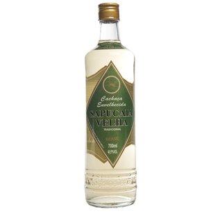 Sapucaia Cachaca Sapucaia Velha Tradicional - 5 Jahre gereift - 40,5%- 700 ml