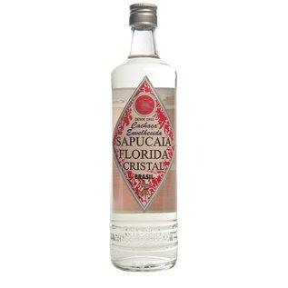 Sapucaia Cachaca Sapucaia Florida Cristal - classique - 2 ans de maturation - 40,50% - 700 ml