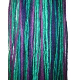 Dreadlocks Haarteil Purple Peacock