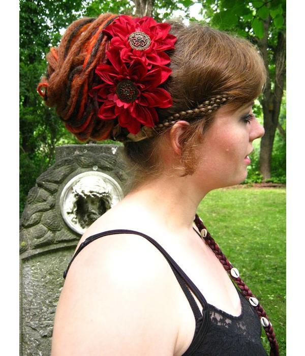 Dread Fall Gipsy Flower Dreads
