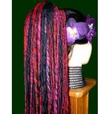 Dreadlocks Haarteil Shades of Purple Dreads