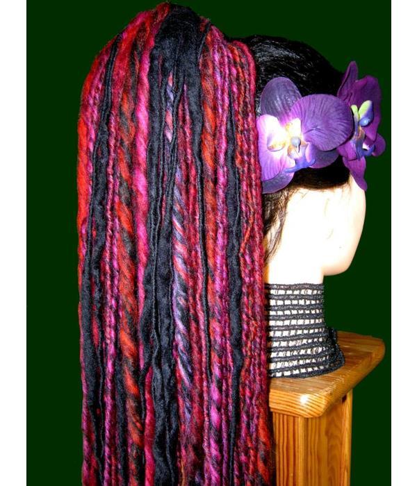 Shades of Purple Dread Fall