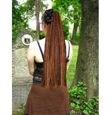 Dreadlocks Haarteil Mittelbraun