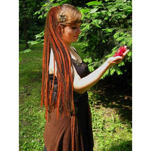 Henna Chestnut Dreads