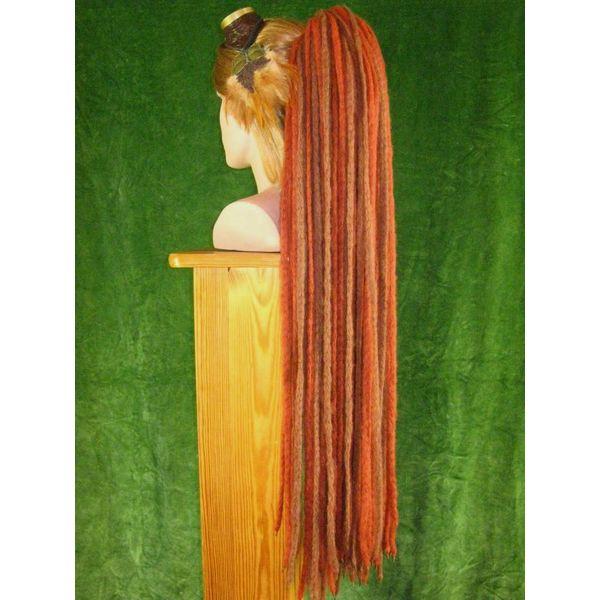 Henna Braune Dreads