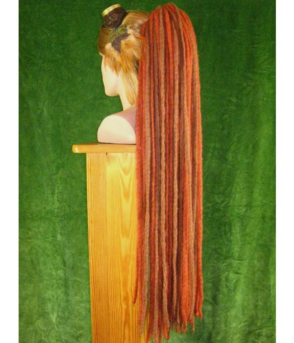 Henna Brown Dread Fall Dreadlocks
