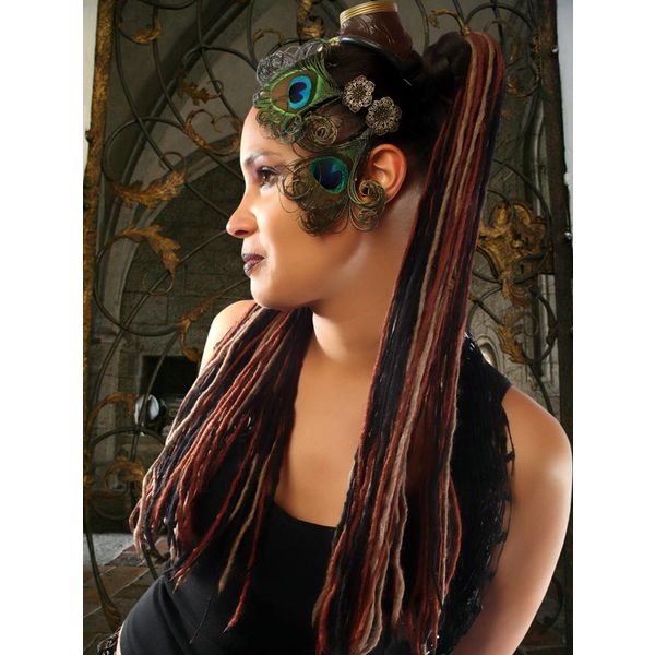 Fine Steampunk Stripes Dreads