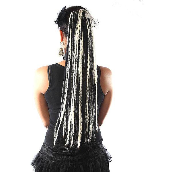Schwarz Weiße Dreads