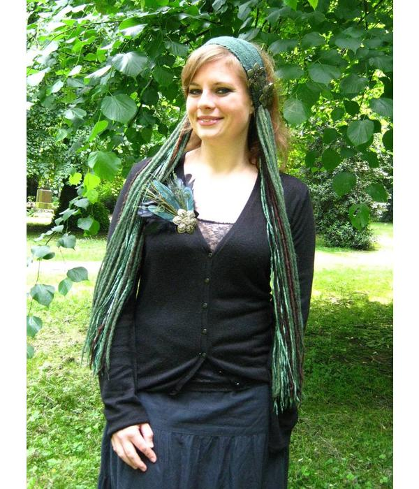 Forest Elf larp & belly dance yarn fall