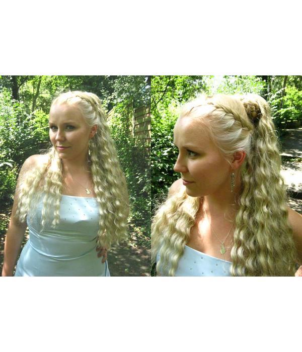 Hair Fall Size M, natural curls