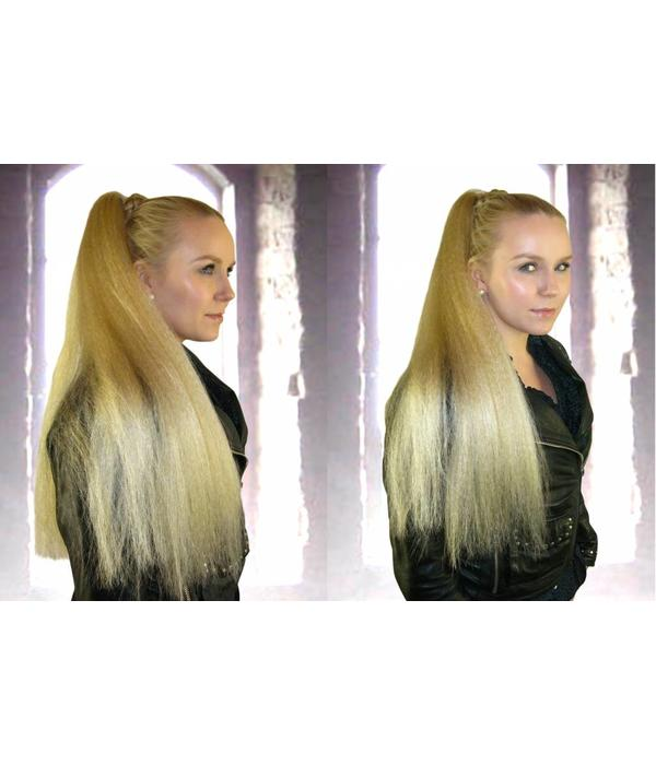 Hair Fall Size M, crimped hair