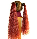 2 Hair Falls Size S, natural curls