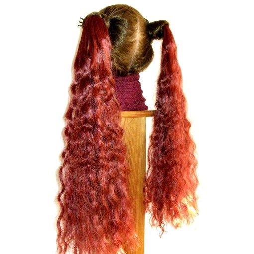 2 Haarteile S Locken