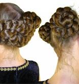 2 Haarteile Größe S, gekreppt