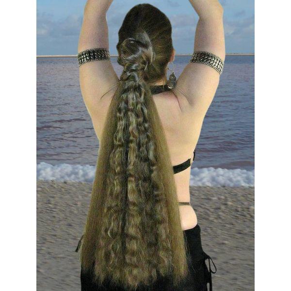 Fantasy Hair Piece M wild style