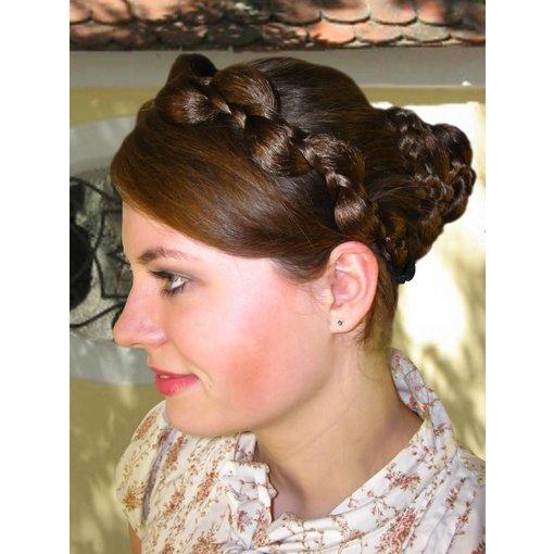 Elf Braid Hair Crown, thick