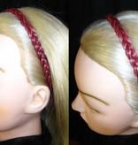 Braided hairband, extra thin