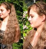 Gewellte Haarverlängerung, Größe L