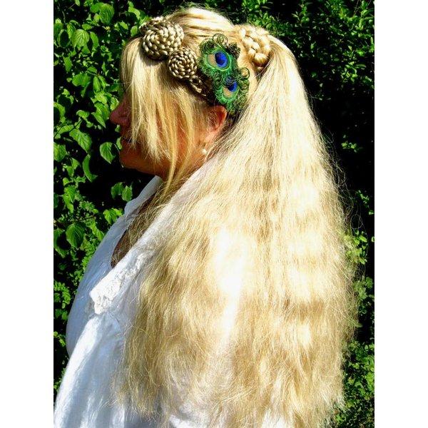 Gewellte Haarverlängerung L