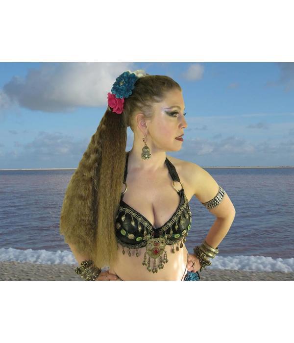 Fantasy Haarverlängerung, Größe M, wild style