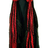 Vampirella gothic belly dance yarn fall