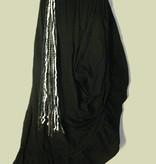 Gürtel- & Haarclip Schneewittchen Silber