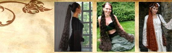 Hair Falls up to 100 cm/ 39''