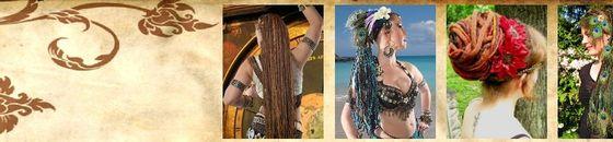 Dreadlocks & Tribal Fusion Haarteile