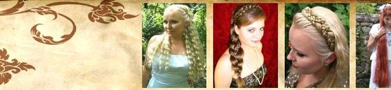 Custom Hair Pieces, Braids, Headbands ...