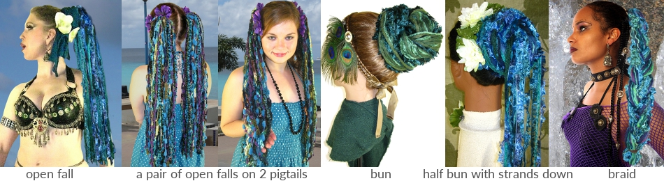 how to style yarn falls by magic tribal hair