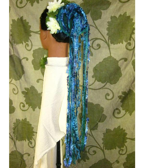 Blue Mermaid Yarn Fall