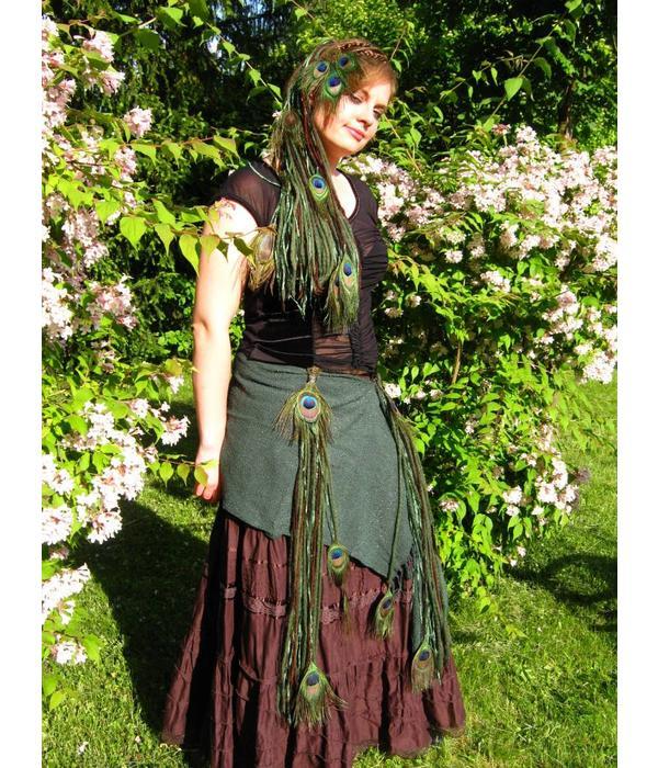 Glamour Hüfttuch Elfe & Smaragdfee