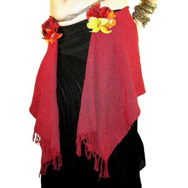 5 € OFF Red Glamour hip scarf