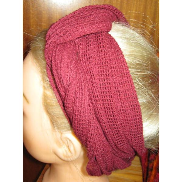 € 5 OFF Red net hip & hair scarf