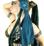 Belly Dance Button Haarblüte Nixe 2 x