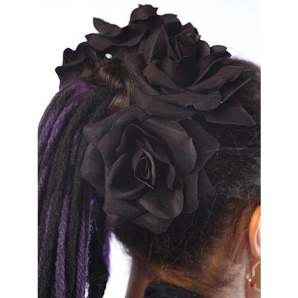 Rose schwarz 2 x