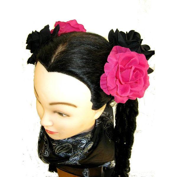 Black & Pink Roses
