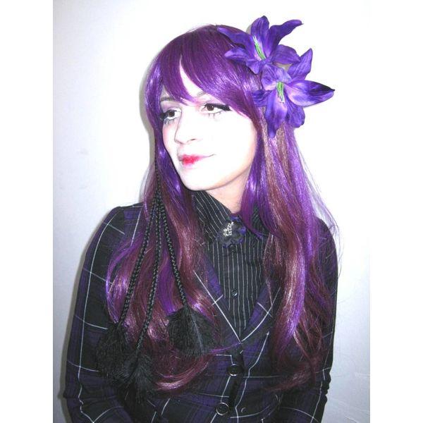 Lilie lila 2 x