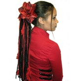 Flamenco Amaryllis Hair Flower 2 x